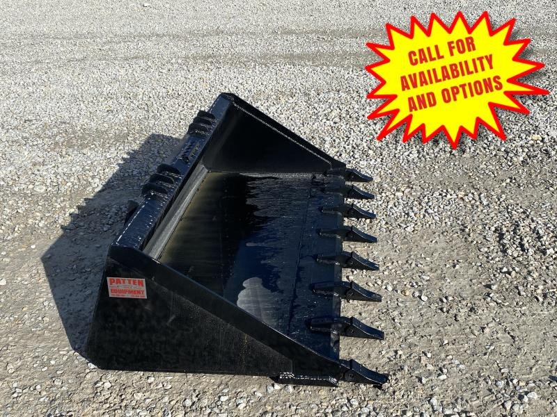 "New Loflin 72"" XHD Tooth Bucket W/ Long Bottom"