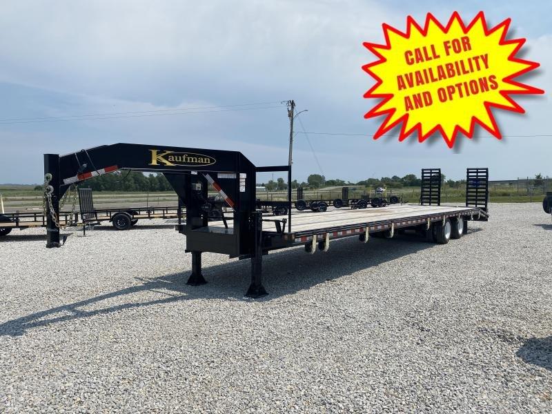 2020 Kaufman 40' Low Pro Gooseneck 30000# GVWR