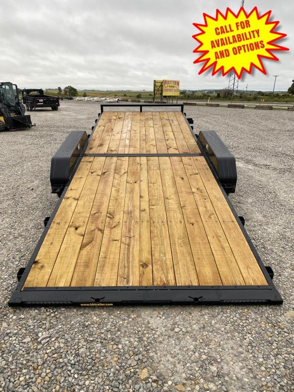 """New H and H 82"""" x 20' Manual Tilt 7000#"""