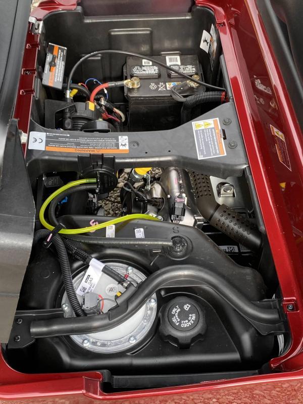 2021 Club Car Onward EFI Gas Golf Cart
