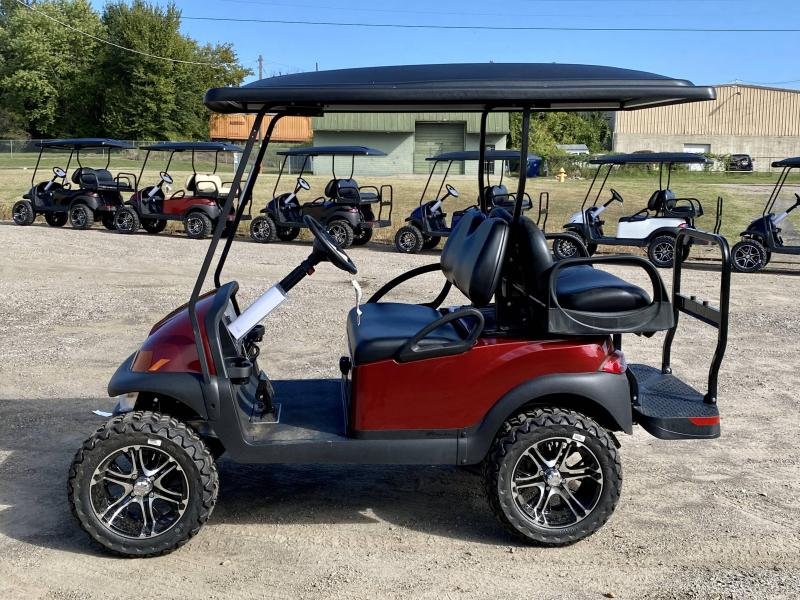 2022 Club Car Villager 4 Lifted Electric Golf Cart