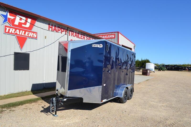 2021 Carry-On 7' X 14' Tandem Axles Enclosed