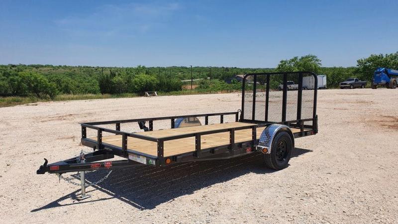 2022 PJ Trailers 83''x14' Single Axle Utility Trailer w/Fold-In Gate
