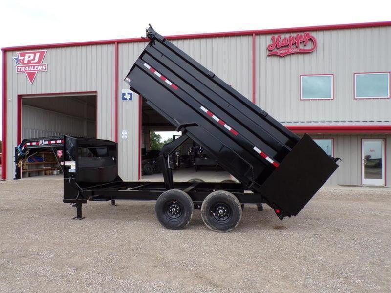 2022 PJ Trailers DM 83x14' Low Pro High Side Dump