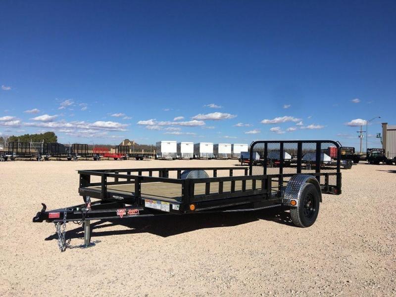 2022 PJ Trailers 83X14' Single Axle (U8) ATV Ramps