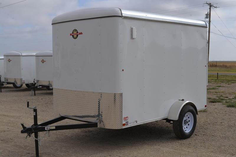 2021 Carry-On 6'x10' Single Axle Enclosed Cargo