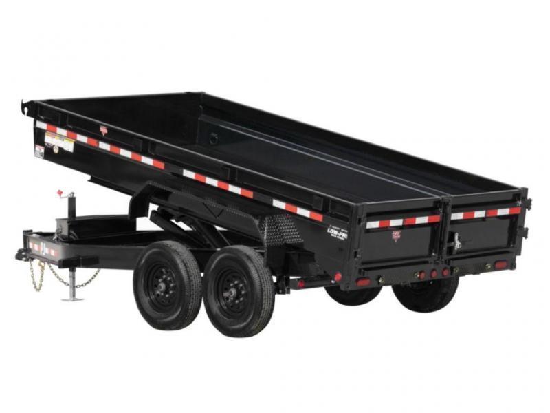 2022 PJ Trailers 14K Low-Profile Dump (DG) 14'