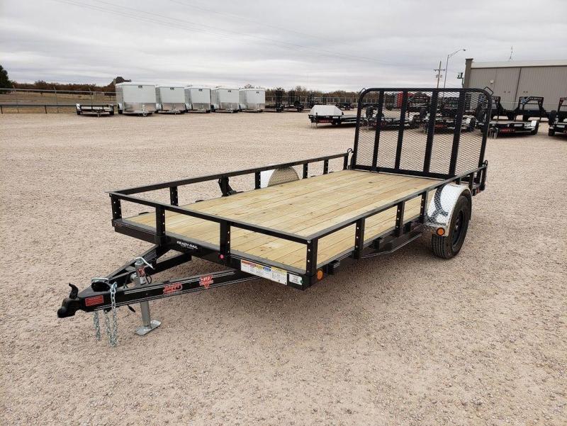 2022 PJ Trailers 83X14' Single Axle Utility (U8)