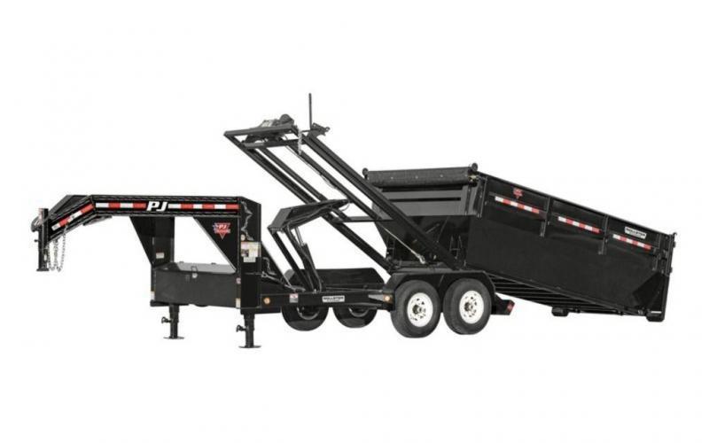 2022 PJ Trailers DR 83x14' GN Roll Off Dump Trailer