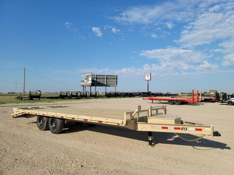 2022 PJ Trailers 102x22' Deck Over Equipment (F8)