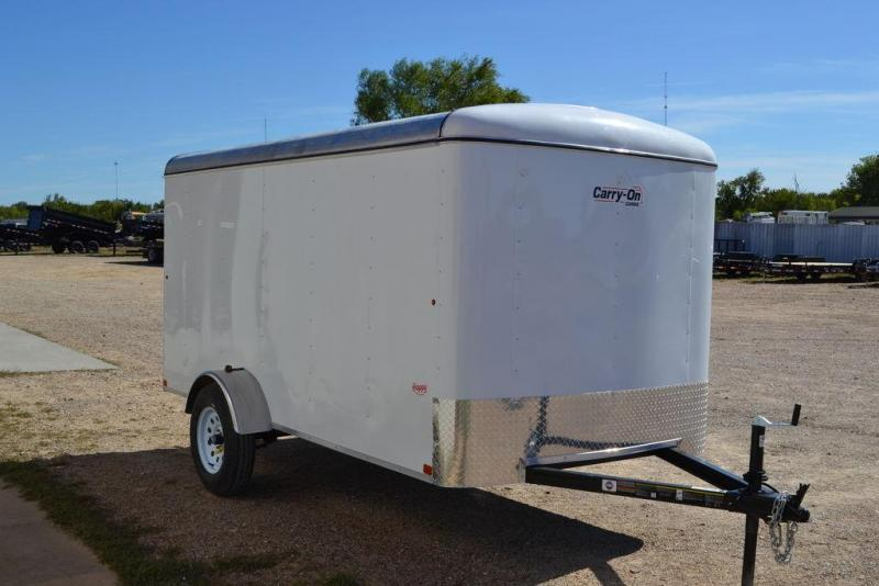 2021 Carry-On 6'x12' Single Axle Enclosed Eco
