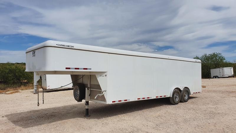 2019 CM Trailers 7'10''x24' Gooseneck Steel Enclosed Cargo Trailer