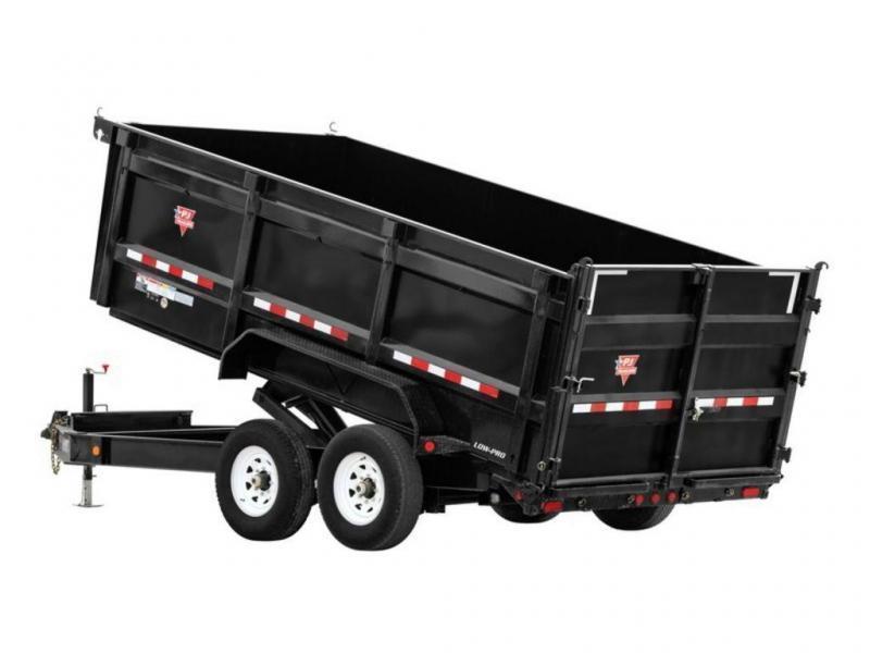 2022 PJ Trailers 83 Low-Pro High Side Dump (DM) 14'
