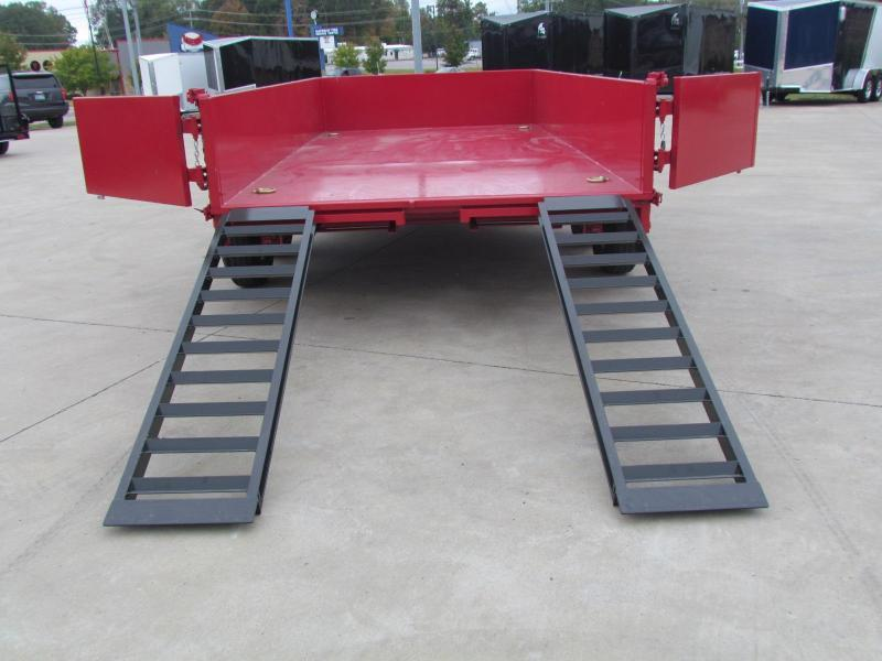 2021 Cam Superline Advantage 7X14 7 TON Dump Trailer