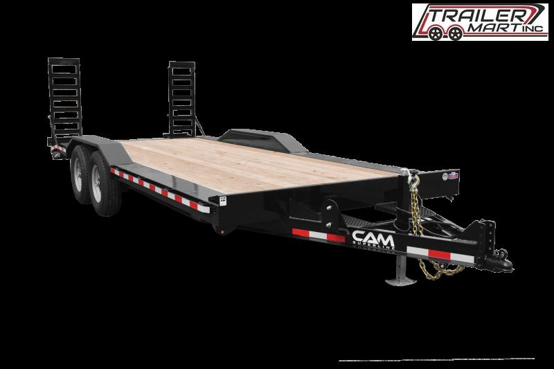 2021 Cam Superline P7EC182CFW (7 Ton Full Width Drive Over Fender Trailer 8.5 x 18+2) Equipment Trailer