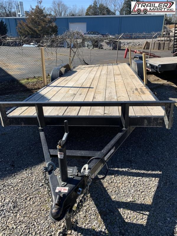 2020 Carry-On 7X20 Flatbed Trailer