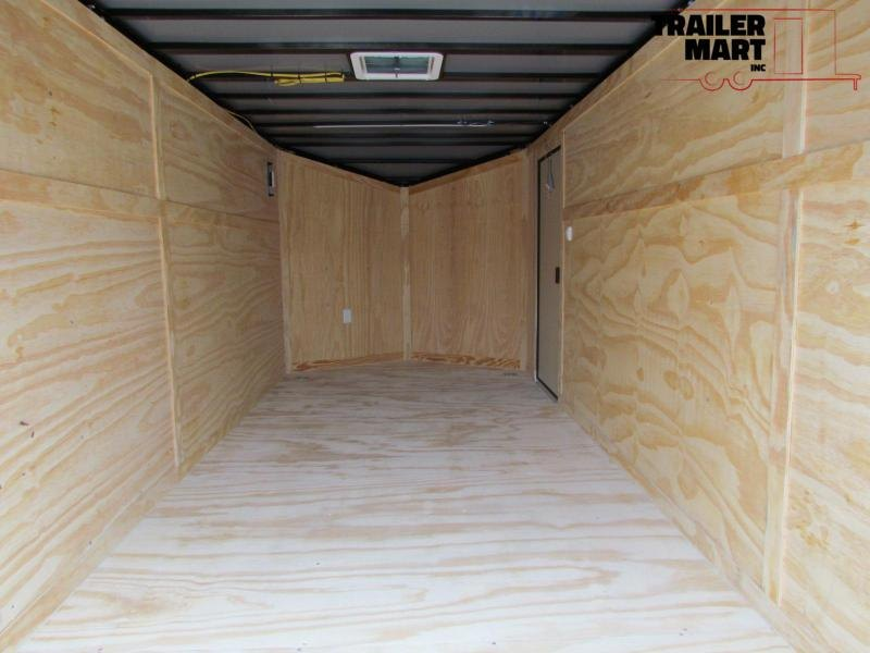2021 Spartan 7X16 Commercial Grade 3 in 1 Enclosed Trailer