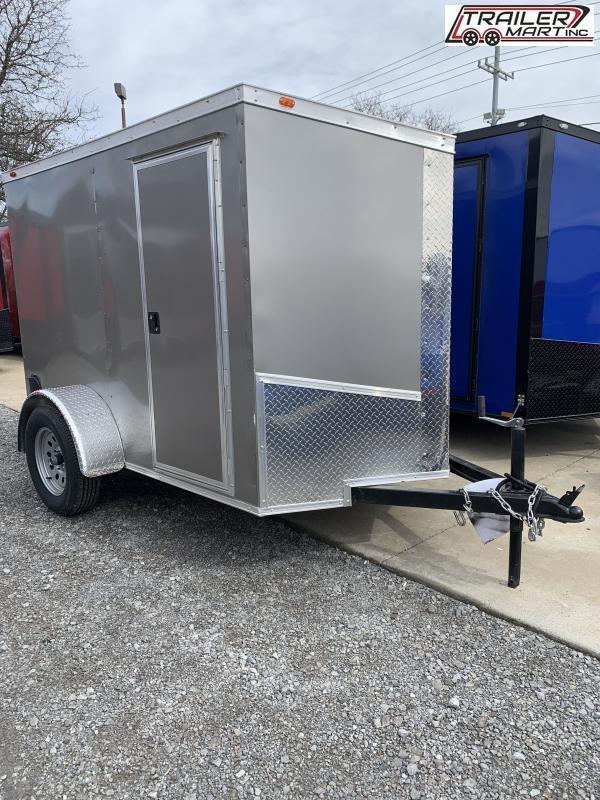 2021 Eagle 5X8SA Enclosed Cargo Trailer