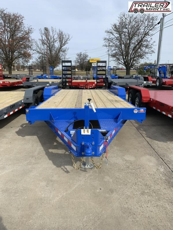 2021 Cam Superline P5EC162C (5 Ton Equipment Hauler Beavertail Trailer 8.5 x 16+2) Equipment Trailer
