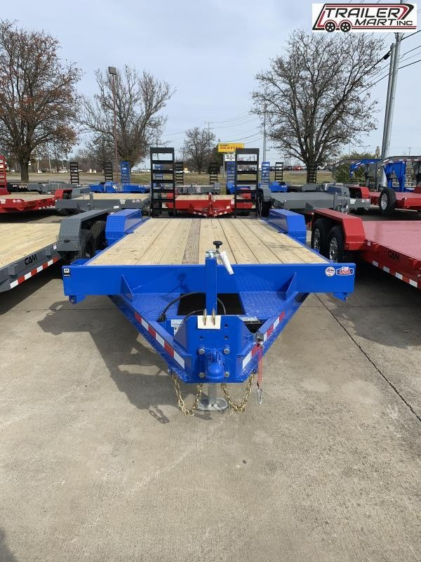 2021 Cam Superline P5EC162C (5 Ton Equipment Hauler Beavertail Trailer 8.5 x 16+2) Equipment Trailer