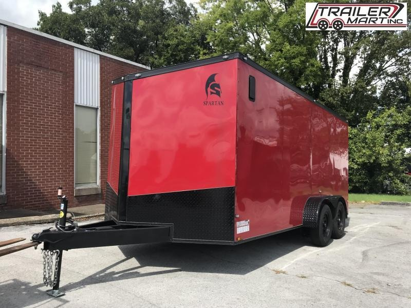 2021 Spartan SP7X16TA Enclosed Cargo Trailer