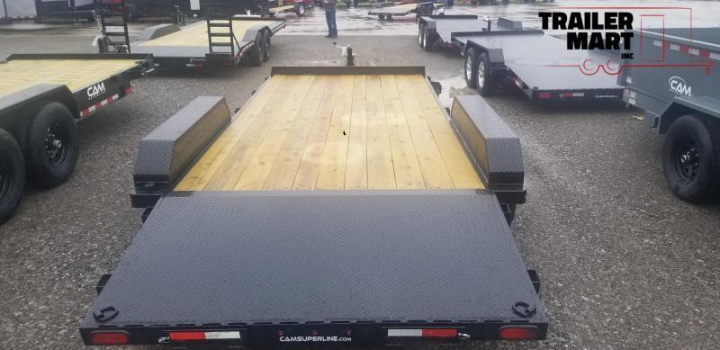 2020 Cam Superline 5 Ton Car Hauler 18ft. Wood Deck Car / Racing Trailer