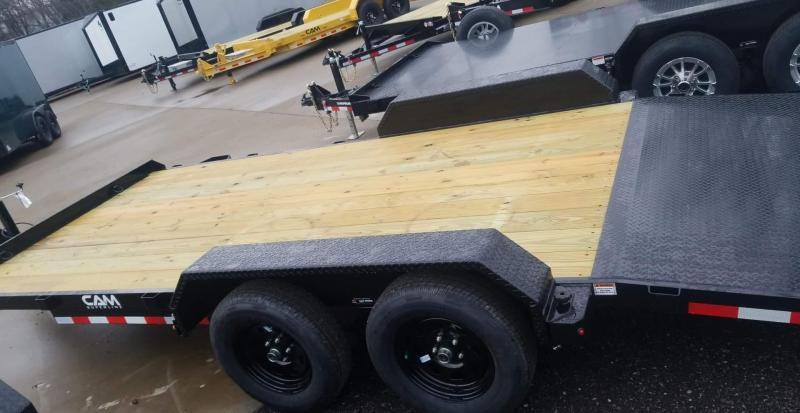2020 Cam Superline 5 Ton Car Hauler 18ft. Wood Deck Car / Racing Trailer