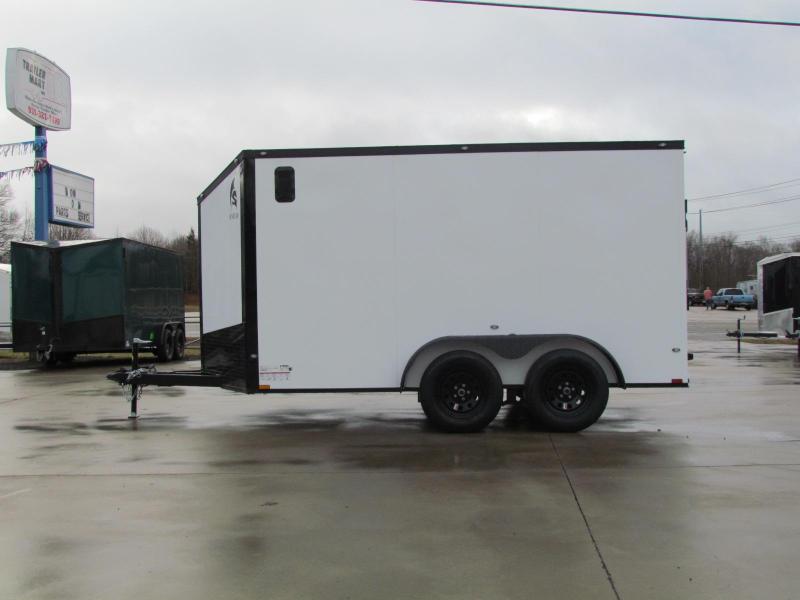 2021 Spartan 7X12 Commercial Grade 3 in 1 Enclosed Trailer