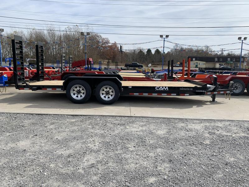 2021 Cam Superline P8CAM20C Equipment Trailer