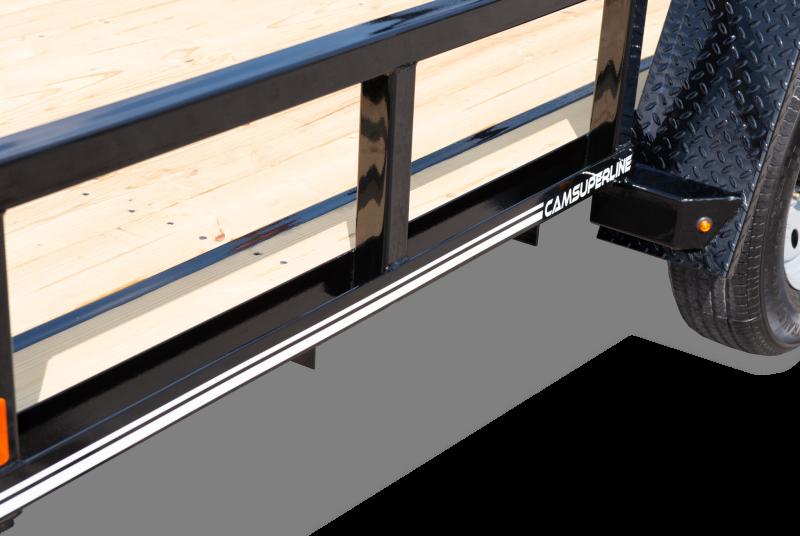 2020 Cam Superline 6x10 Open Utility Trailer Single Axle HD Frame