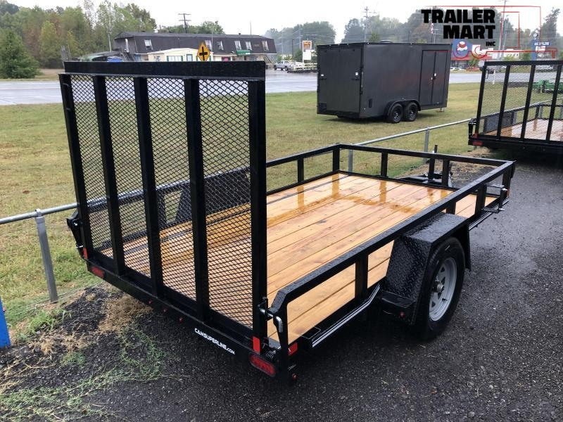 2020 Cam Superline 6x10 Open Utility Trailer Single Axle HD Frame