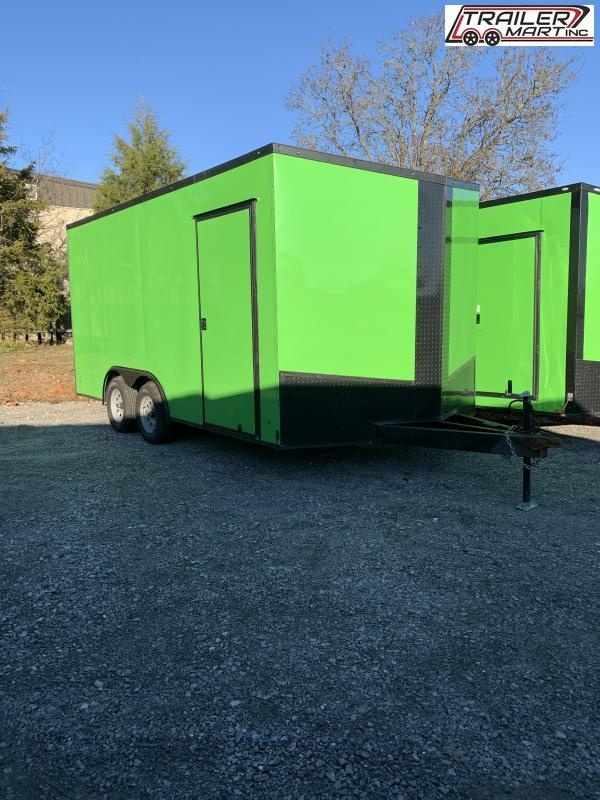 2020 Eagle 8.5X16TA2 Enclosed Cargo Trailer