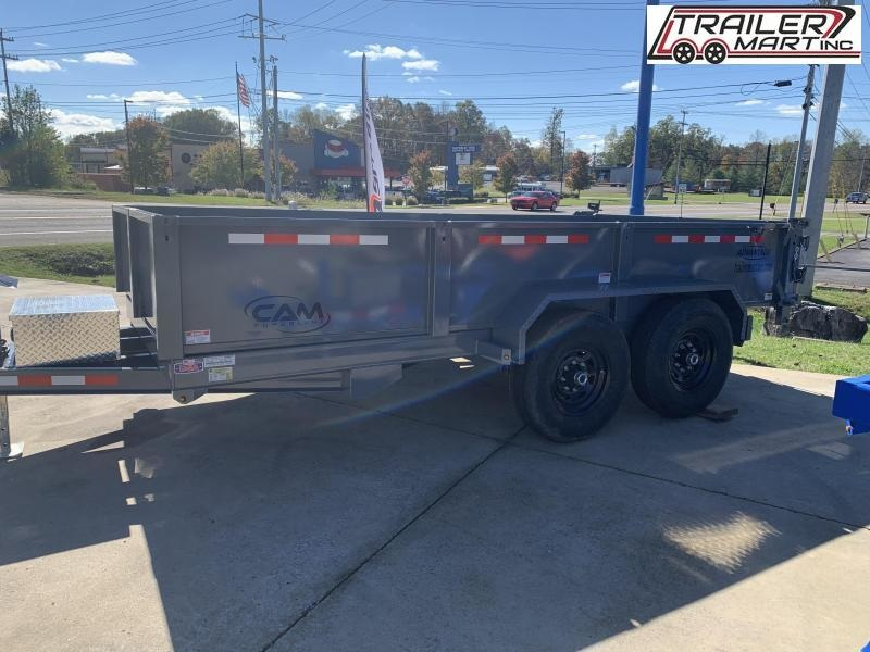 2021 Cam Superline P146814LPHDT (7 Ton Advantage HD Low Profile Dump Trailer 6.8x14 ) Dump Trailer