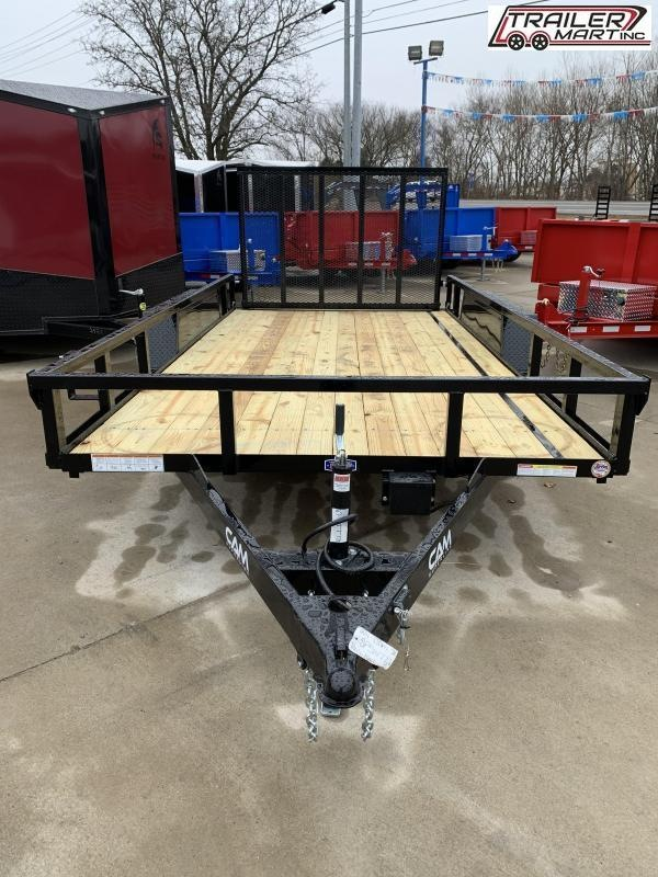 2021 Cam Superline P8214TAT-B-070 (7x14 Tube Top CAM Utility Trailer 7K Tandem) Utility Trailer