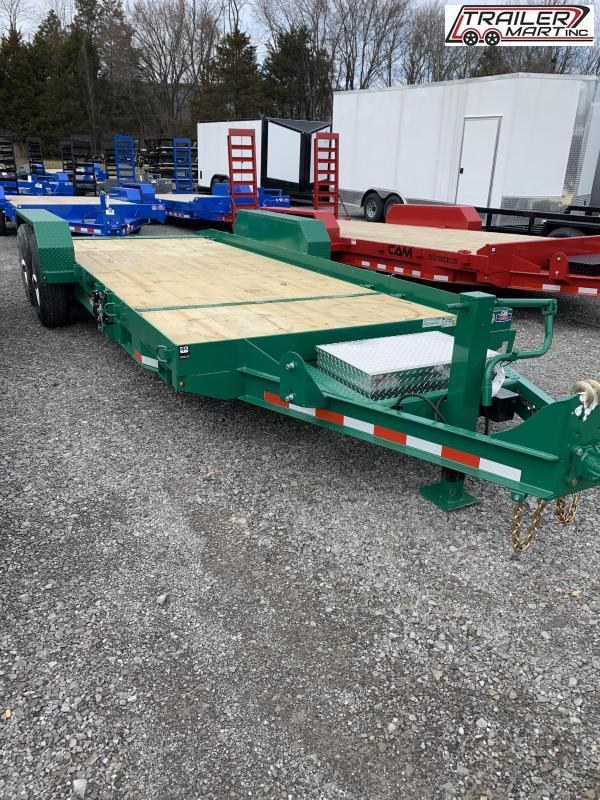 2021 Cam Superline P7CAM154STT (7 Ton Tilt Trailer Split Deck 8.5 x 15+4) Equipment Trailer