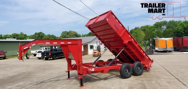 2021 Cam Superline Advantage 7X14 7 TON Gooseneck  Dump Trailer