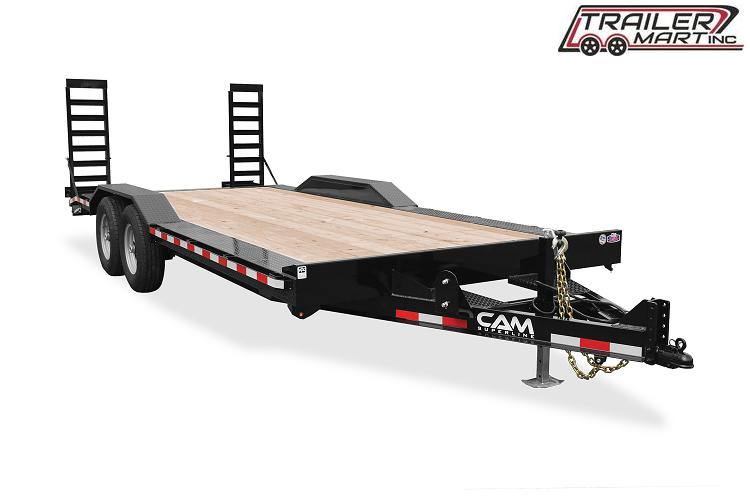 2021 Cam Superline P7EC222CFW (7 Ton Full Width Drive Over Fender Trailer 8.5 x 22+2) Equipment Trailer