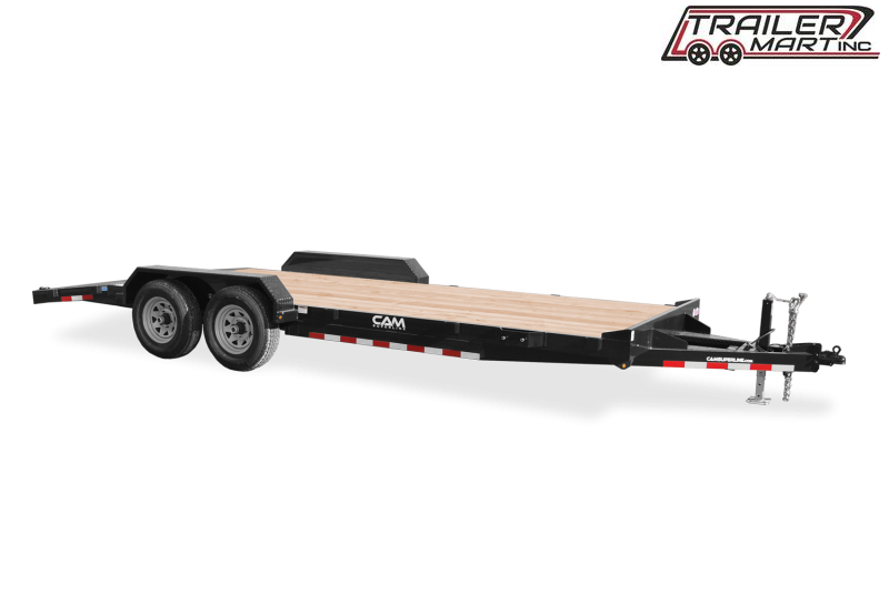 2021 Cam Superline P5CAM20CH (5 Ton Car Hauler Trailer 20FT Wood Deck) Flatbed Trailer