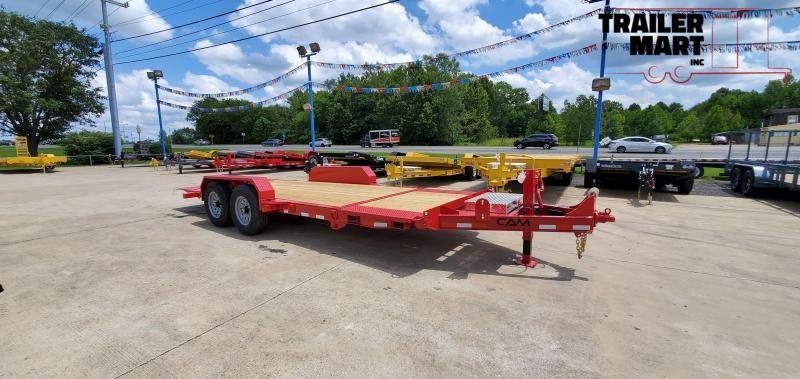 2021 Cam Superline 7 Ton Split Deck Tilt Trailer 8.5x16+4 Equipment Trailer