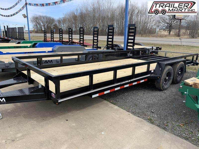 2021 Cam Superline P8220TAT-B-100 Utility Trailer