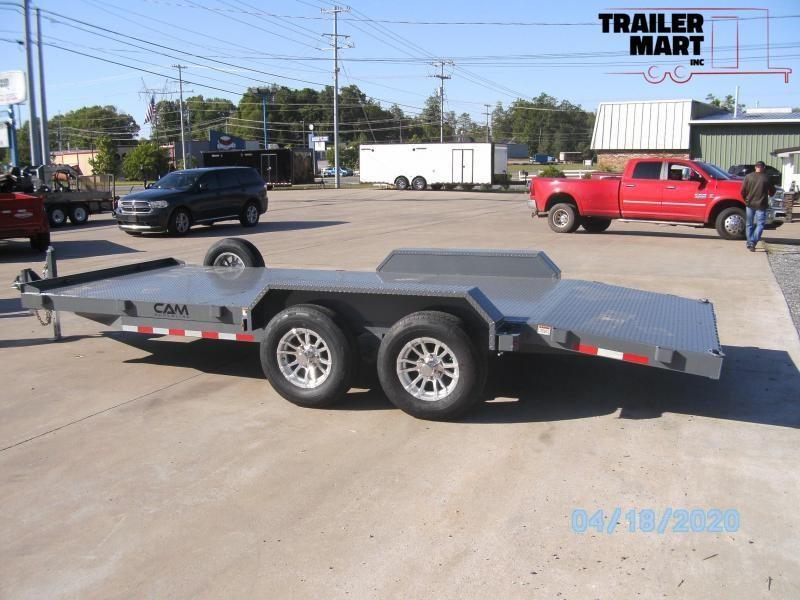 2020 Cam Superline 18' Car Hauler Flatbed Trailer - 5 Ton
