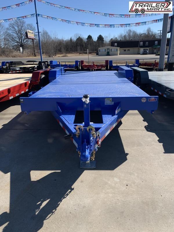 2021 Cam Superline P5CAM20CHS (5 Ton Car Hauler Trailer 20FT Steel Deck) Flatbed Trailer