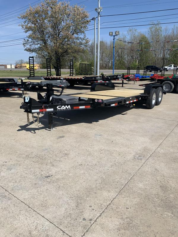 2021 Cam Superline P7CAM165STTXW Flatbed Trailer