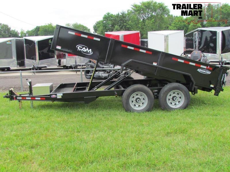 2020 Cam Superline Advantage 7X14 7 TON Dump Trailer