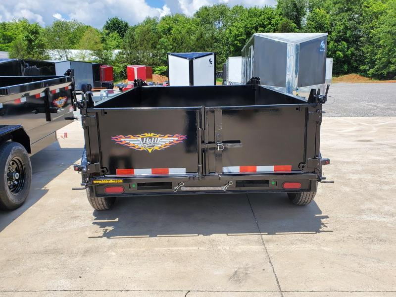 2020 H and H Trailer 10FT. Dump  Trailer