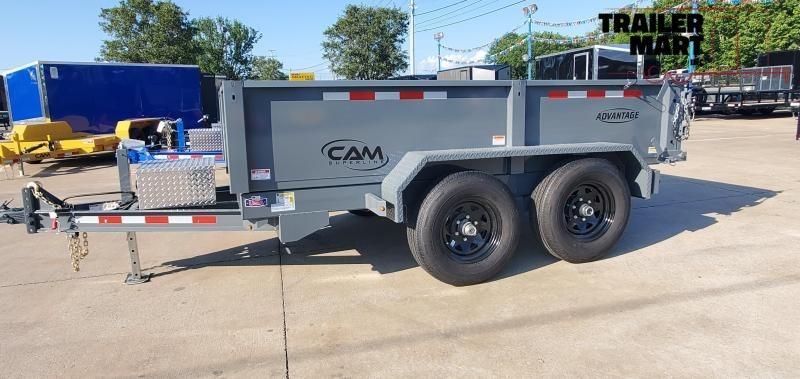 2021 Cam Superline 6x10 Dump Trailer