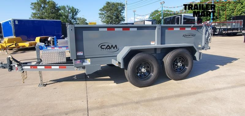2021 Cam Superline 6x10 Dump Trailer