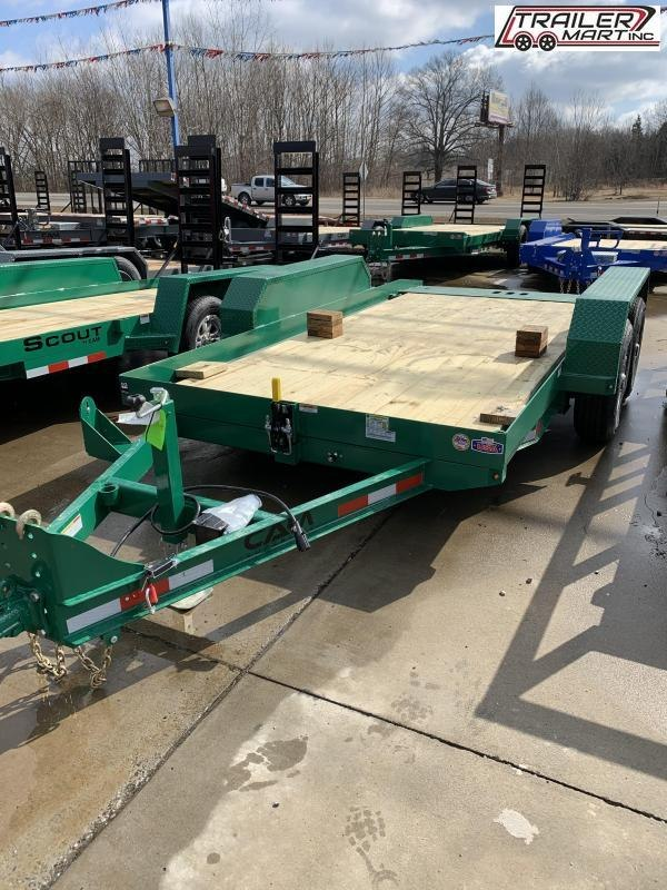 2021 Cam Superline P5CAM614FTT Flatbed Trailer