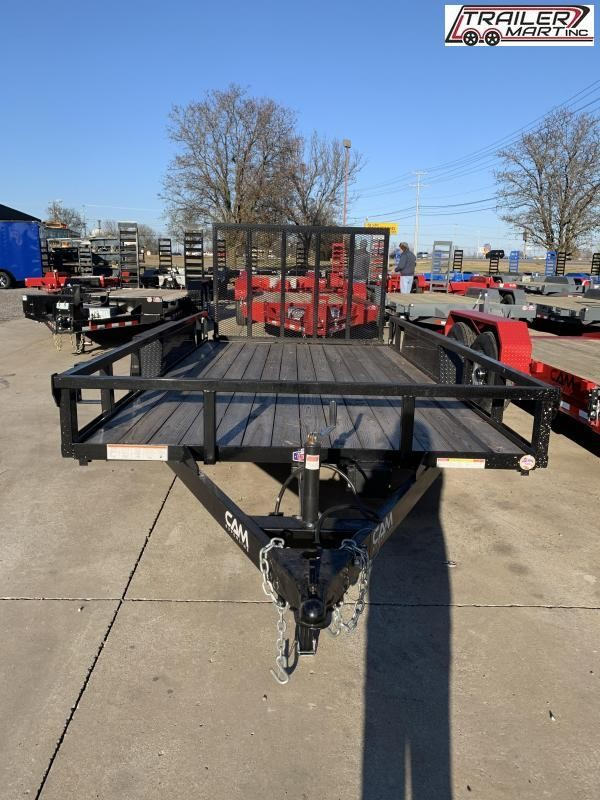 2020 Cam Superline P8214TAT-B-070 (7x14 Tube Top CAM Utility Trailer 7K Tandem) Utility Trailer