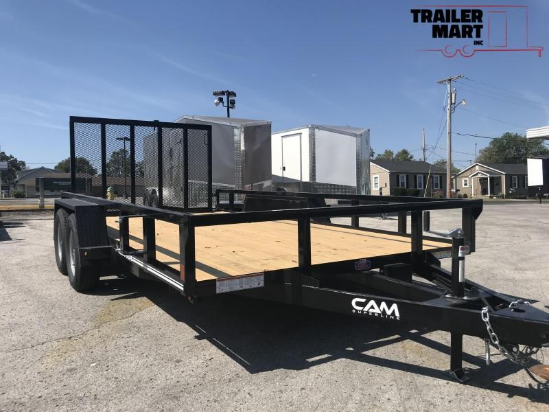 2020 Cam Superline 7X14TA Utility Trailer